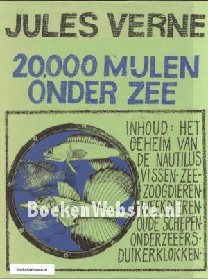 20000 Mijlen Onder Zee Jules Verne Boeken Website
