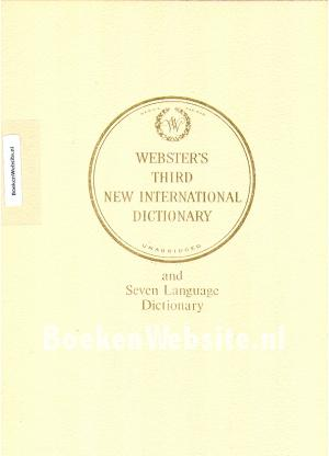 Webster's Third New International Dictionary *
