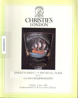 English and Continental Glass and Glass Paperweights