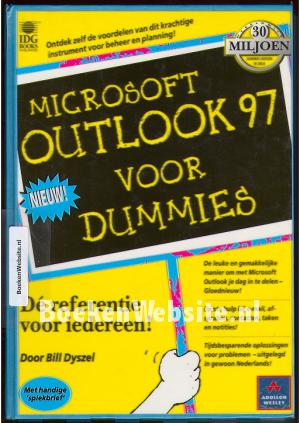 Outlook 97 voor dummies