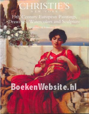 19th Century European Paintings, Drawings, Watercolors and Sculpture