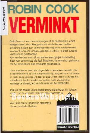 Verminkt, Robin Cook | Boeken Website.nl | 300 x 445 jpeg 29kB