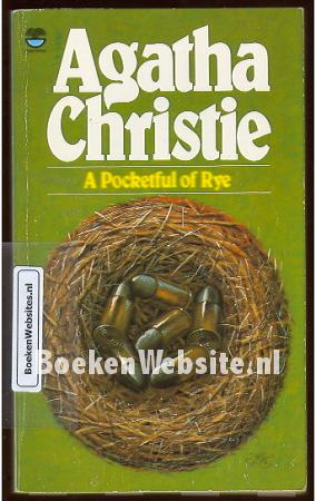 A Pocketful Of Rye by Agatha Christie ( 1986, Leatherette) LN