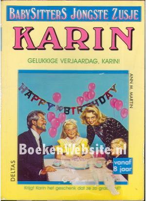 Verjaardag Karin.Gelukkige Verjaardag Karin Ann M Martin Boeken Website Nl