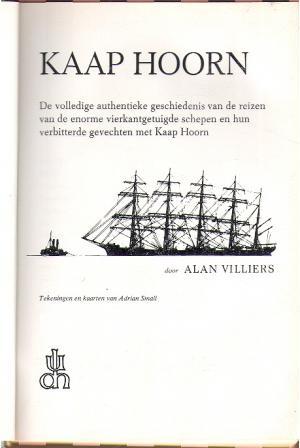 Kaap Hoorn, Alan Villiers | Boeken Website.nl