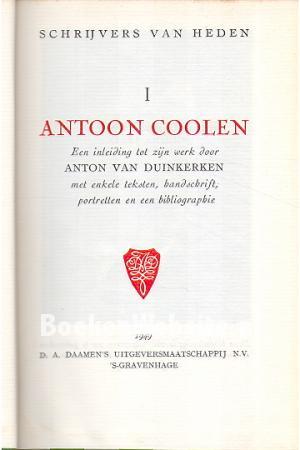 Antoon Coolen Net Worth