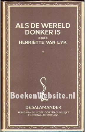 Als de wereld donker is van henriette van eyk 5 x tweedehands te koop - Mand linnen huis van de wereld ...