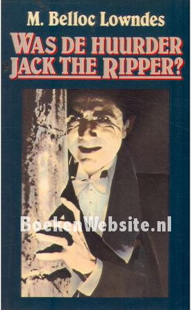 Was de huurder Jack the Ripper?