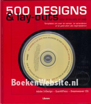 500 Designs & Lay outs voor drukwerk en web