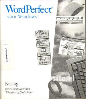 WordPerfect voor Windows Naslag voor Windows 3.0 of Hoger