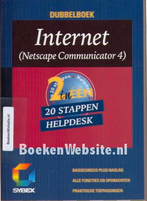 Internet Netscape Communicator 4 20 stappen Helpdesk
