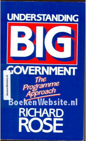 Understanding Big Government