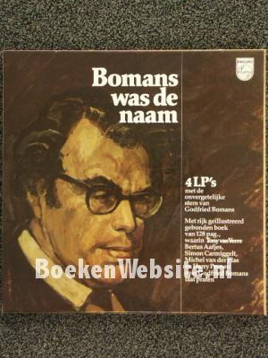 Bomans was de naam, 4 LP's incl. boek en cassettebox