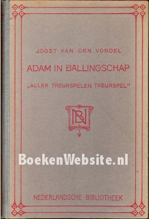 Adam in ballingschap