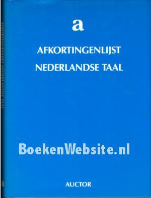 Afkortingen lijst Nederlandse taal, H.J. Boef | Boeken ...