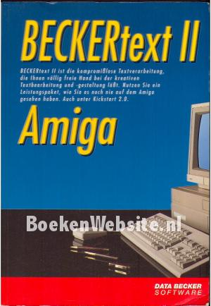 Beckertext II Amiga