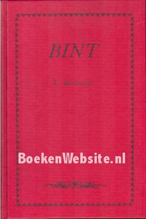 Bint F Bordewijk Boeken Websitenl