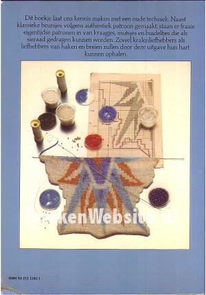 Breien En Haken Met Kralen Gineke Walvisch Root Boeken Websitenl