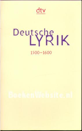 Deutsche Lyrik 3