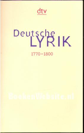 Deutsche Lyrik 6
