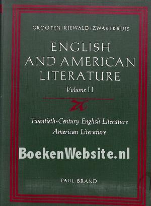 English and American Literature II