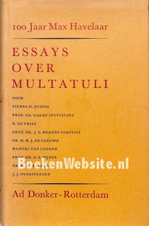 Essays over Multatuli