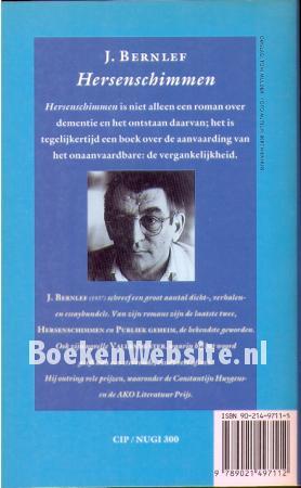 0711 Hersenschimmen J Bernlef Boeken Websitenl