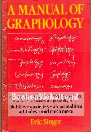A  Manual of Graphology