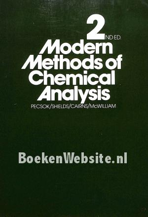 Modern Methods of Chemical Analysis