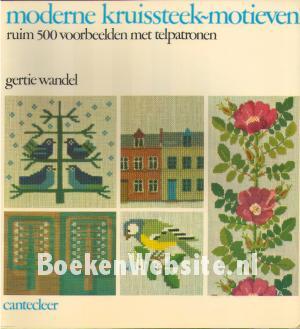 Moderne Kruissteek Motieven Gertie Wandel Boeken Websitenl