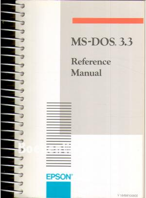 MS-DOS 3.3