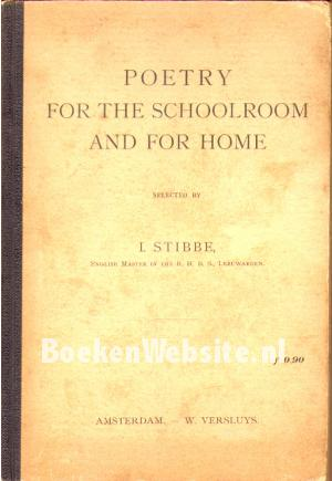 Poetry for the Schoolroom and for Home