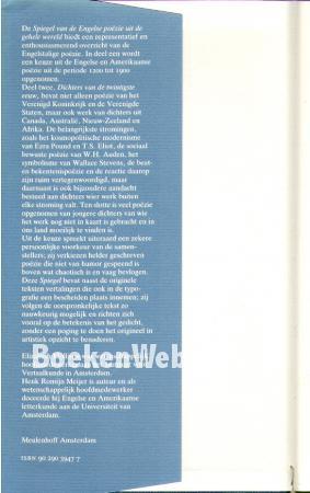 Spiegel van de engelse po zie uit de gehele wereld 2 elizabeth mollison meijer henk romijn - Spiegel rivoli huis van de wereld ...