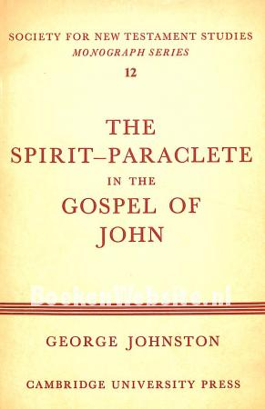 The Spirit-Paraclete in the Gospel of John
