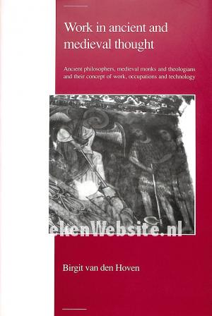 Work in ancient and medieval thought