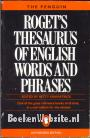 Roget's Thesaurus of English words and phrases