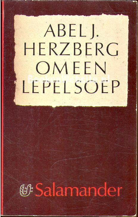Herzberg abel j 0389 om een lepel soep - Om een e b e bbinnenkap te creeren ...