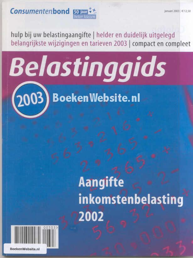 - Belasting gids 2003