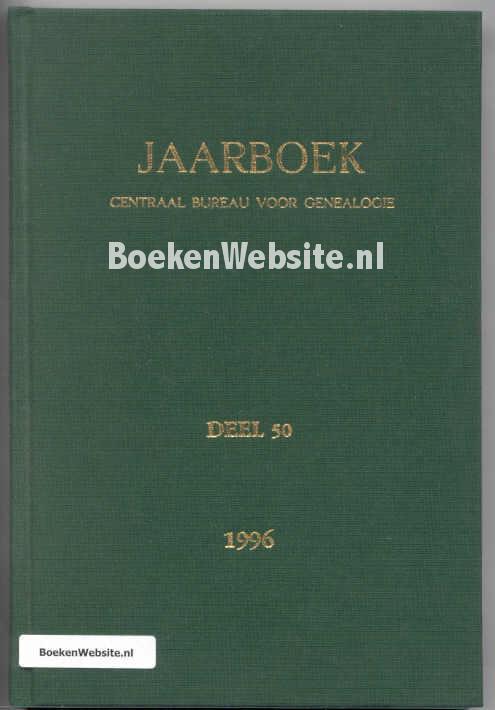 - Jaarboek CBG deel 50 1996