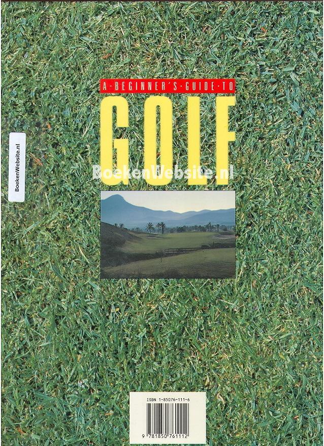 Beginners Guide To Golf Plr by WendyTalbott - Issuu