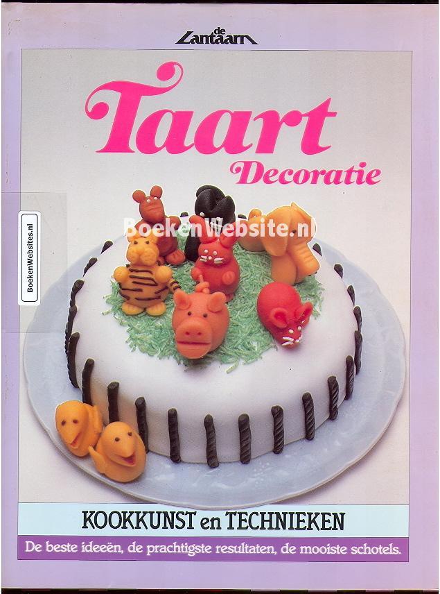 Taart decoratie jo thomas boeken for Taart en decoratie