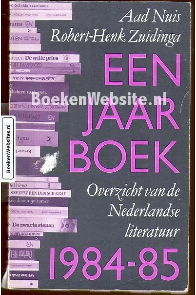 Een Jaarboek 1984-85