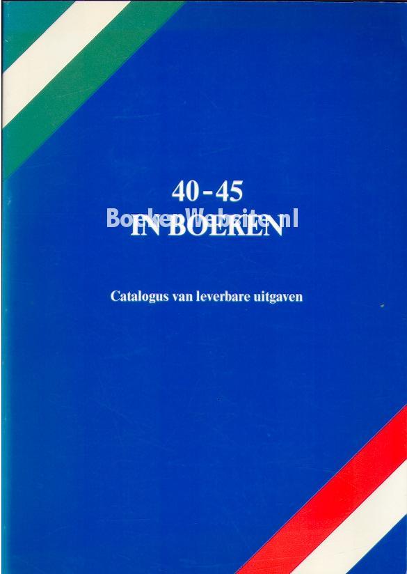 Molenaar, L.L. - Aret R. - 40 - 45 in boeken