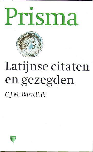Seneca Latijnse Citaten : Latijnse citaten en gezegden g j m bartelink boeken