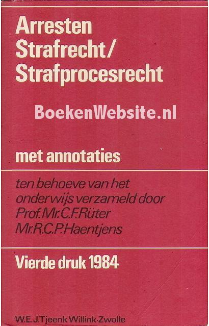 Arresten Strafrecht / Straf...