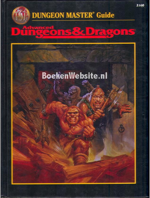 Winter, Steve - Advanced Dungeons & Fragons Master Guide