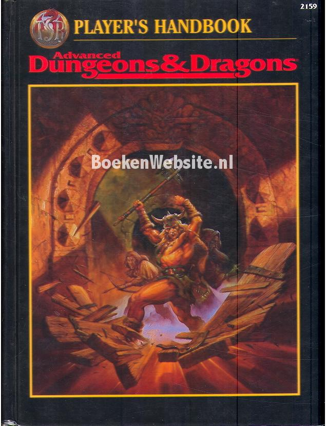 Winter, Steve - Advanced Dungeons & Fragons Players Handbook