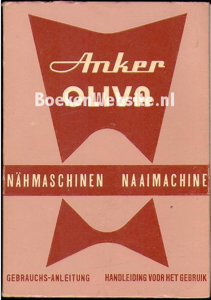 - Anker Oliva naaimachine, handleiding