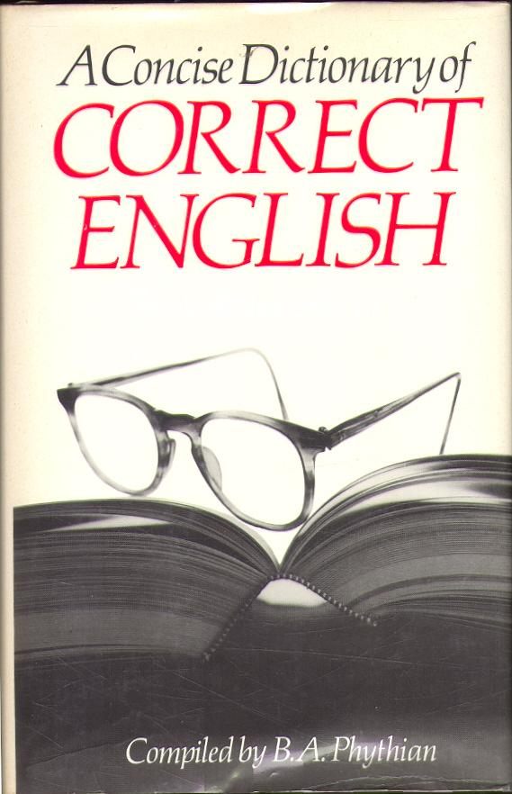 A Concise Dictionary of Cor...