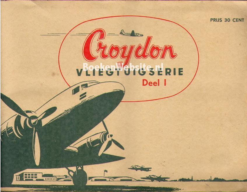 - Croydon vliegtuigserie deel 1